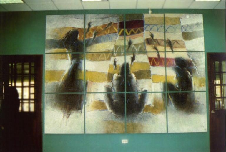 Zilveti-Amertex, La Paz, Bolivie, 1999