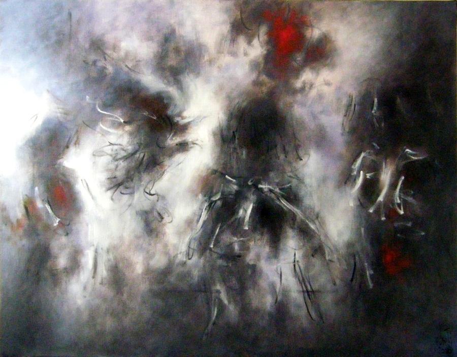 Zilveti - La otra noche - Huile sur toile - 114x146 cm, Paris 2008